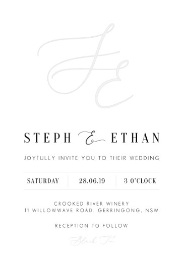 Milieu - Wedding Invitations