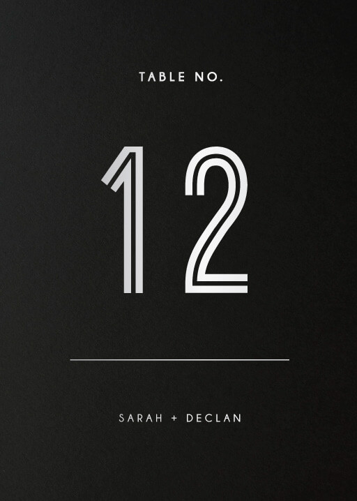 Watsons Bay Hotel - Table Numbers