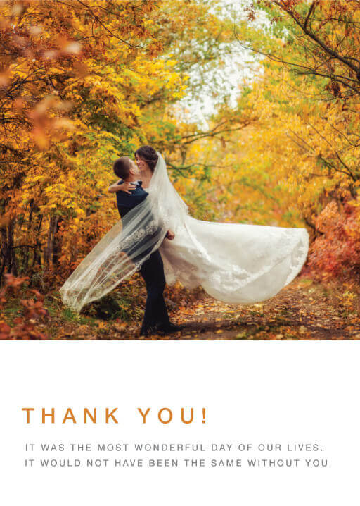 Fall leaves - Thank You