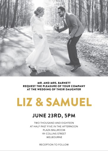 Photocards - Wedding Invitations