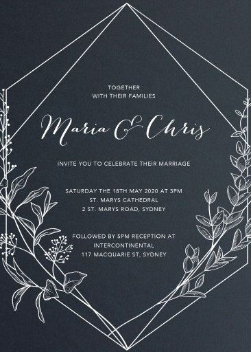 Saint Mary - Wedding Invitations