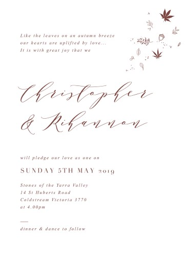 Sprinkle Of Love - Wedding Invitations