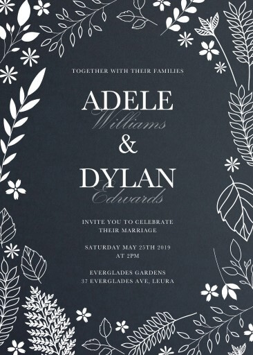 Winter Woods - Wedding Invitations