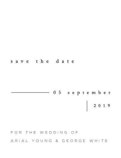 Nouveau - Save The Date