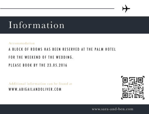 Voyage - Information Cards