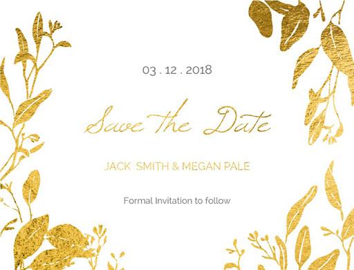 Botanical Geo - Save The Date