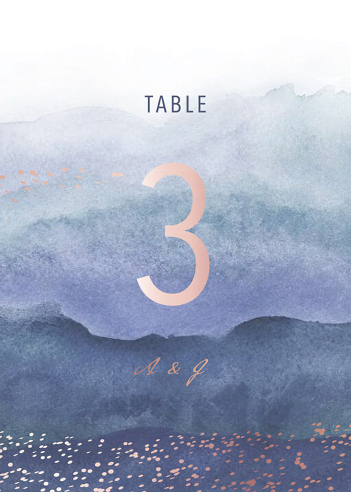 Mira - Table Numbers