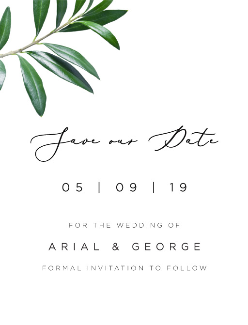 Olive - Save The Date