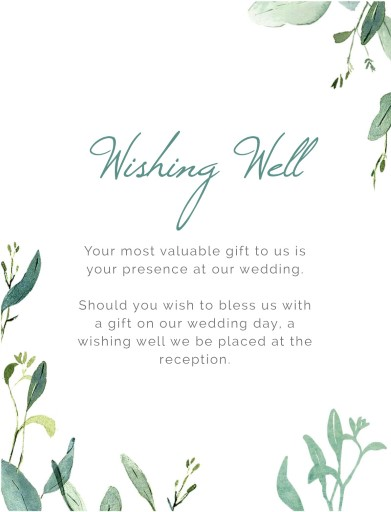 Botanical Geo - Wishing Well