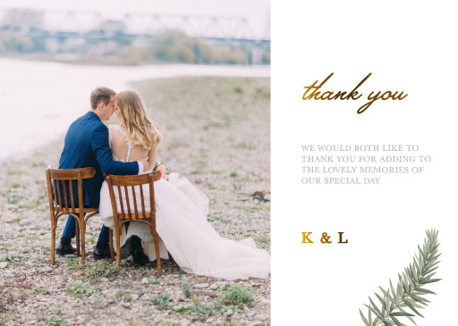 Diamond Branch - Thank You Cards