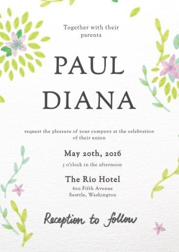 Spring - Invitations