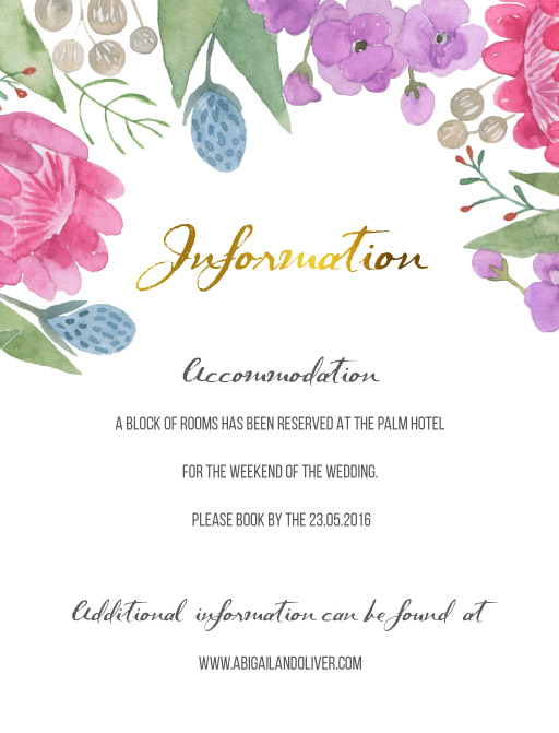 Native Bloom - Information Cards