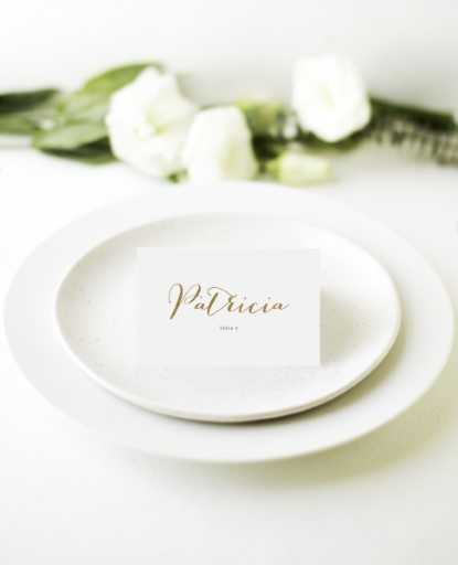 Goldie Dots - Place Cards