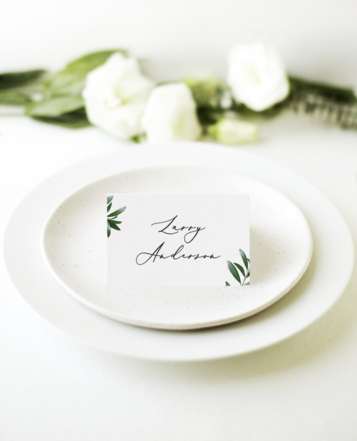Olive - Place Cards