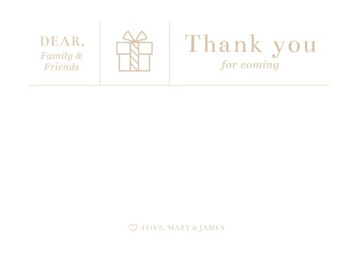 Type on Line - Thank You Cards