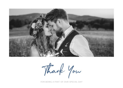 Soft Waves - Thank You Cards