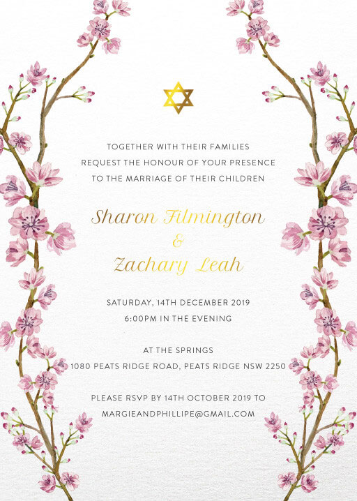 Aviva - Wedding Invitations