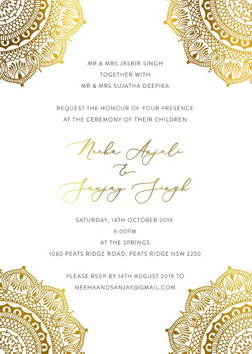 White Vivaha - Wedding Invitations