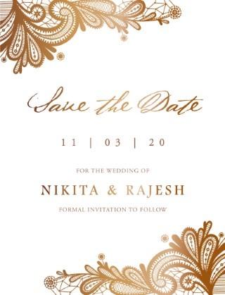 Tirumana Henna - Save The Date