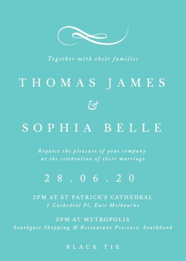 Fifth Avenue - Wedding Invitations