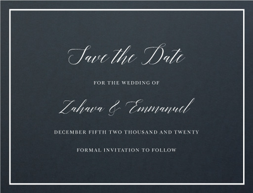 Simcha - Save The Date