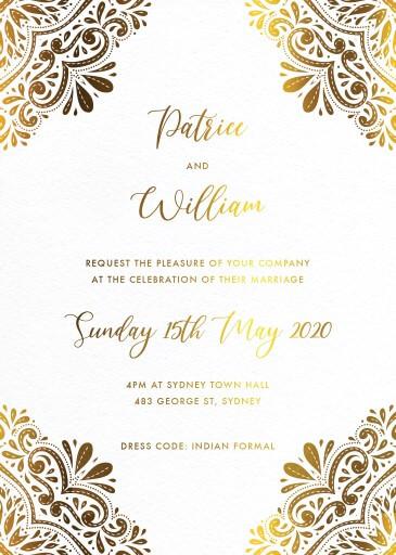 India - Wedding Invitations
