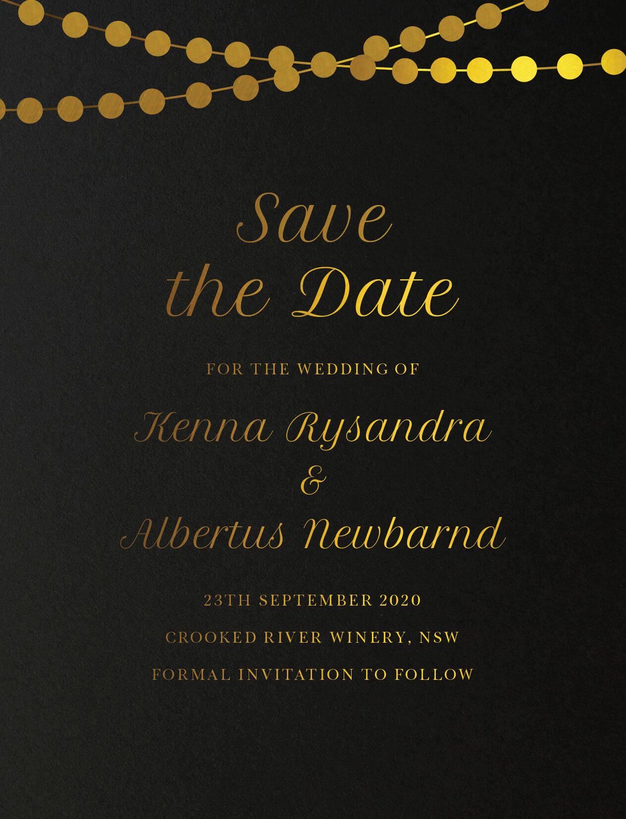 Wedding Invitations Cards By Yunita