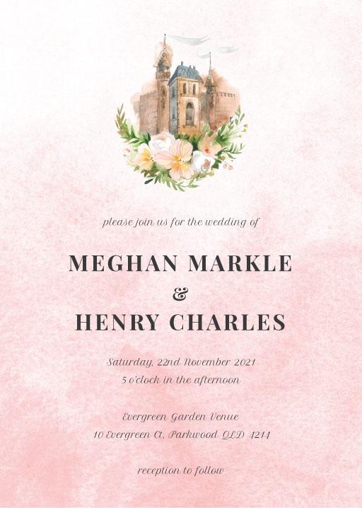 The Castle - Fairytale Wedding Invitations
