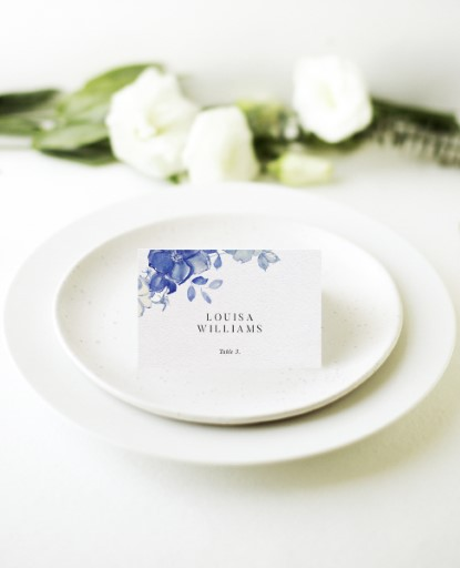 British Floral - Place Cards