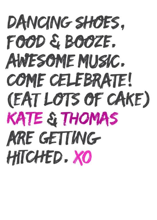 XO - Invitations