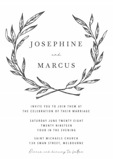 Olea - Wedding Invitations