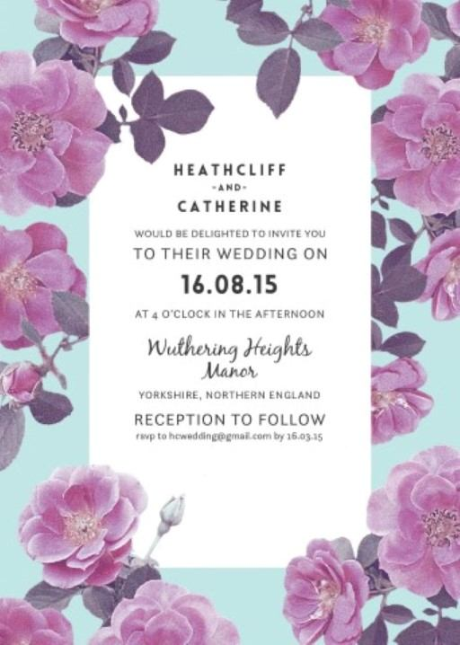 Rosehip - Invitation