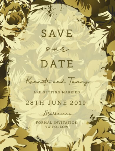 Hunting In Camo - Save The Date