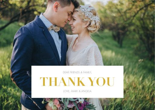Photocards - Thank You Cards
