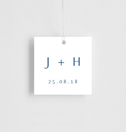 Deep Blue - gift tags