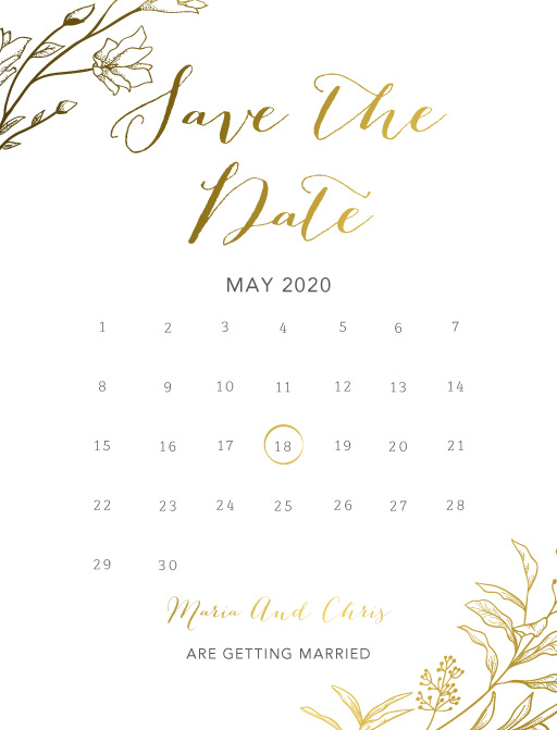 Saint Mary - Save The Date