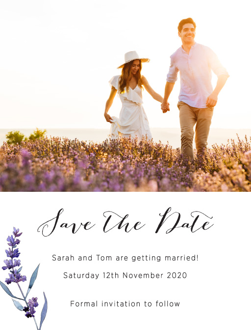 Lavendula - Save The Date