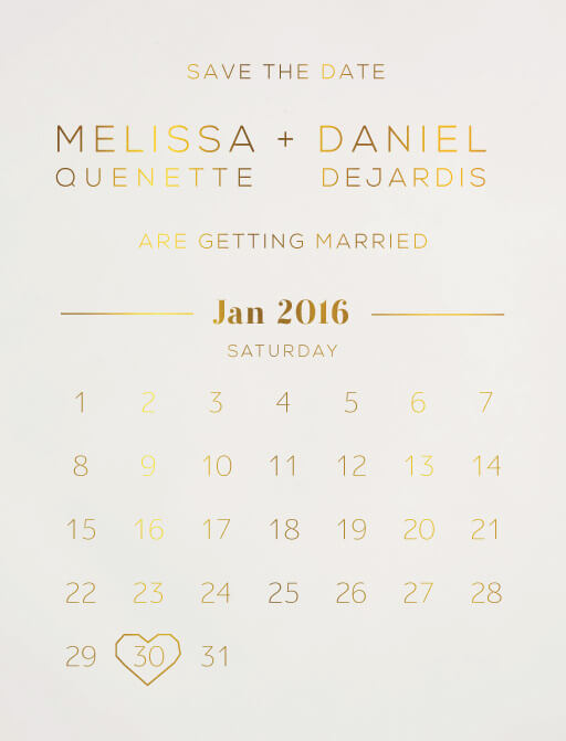 Diamond Love - Save The Date