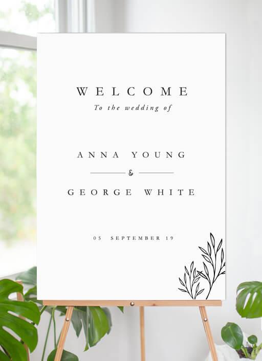 Luna - Wedding Signs