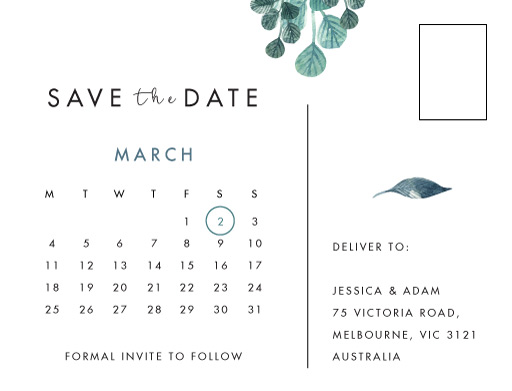 Stylistically Green - Save The Date