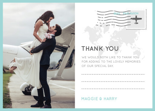 Blue Paradise - Thank You Cards