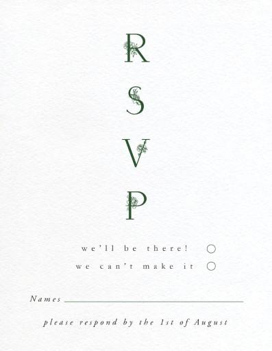 Botanica - Rsvp