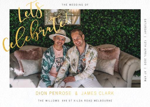 Celebrate - Wedding Invitations