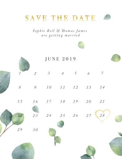 Eucalyptus - Save The Date
