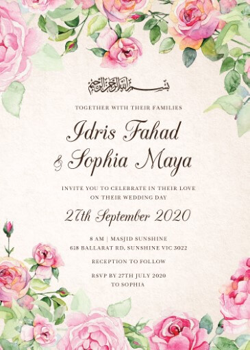 Good Spring - Wedding Invitations