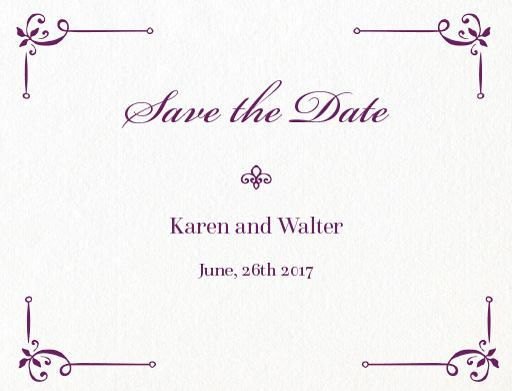Vintage Cobalt - Save The Date
