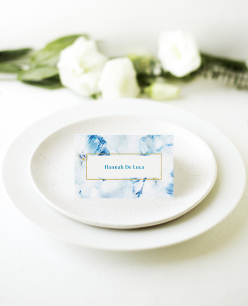 Peacock - Place Cards