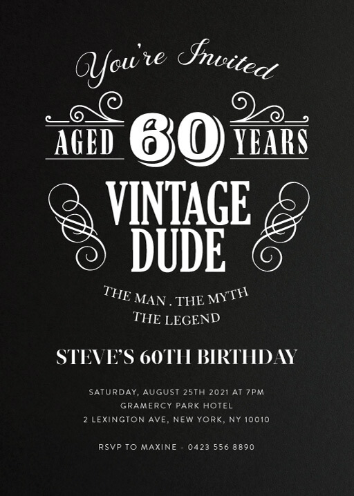 idea 60 birthday invitation wording for 15 funny 60th birthday invitation wording ideas