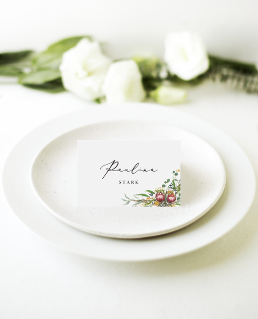 Sarulean - Place Cards