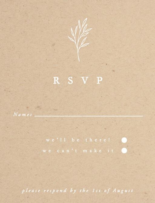 Luna - RSVP Cards